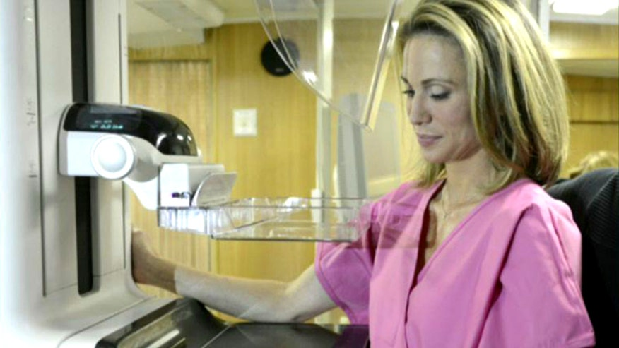 ABC News correspondent Amy Robach was screened as part of 'GMA's' October Pink initiative