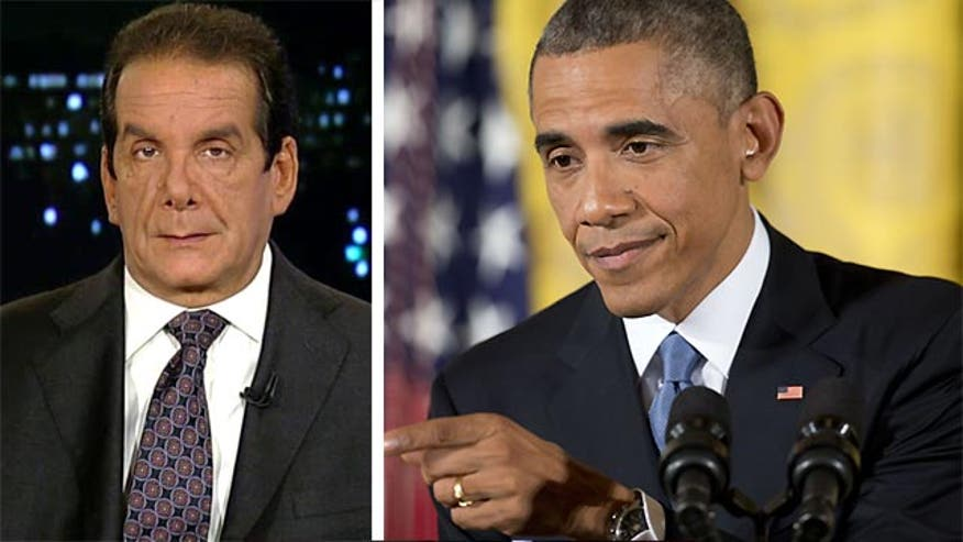 "Krauthammer:  Obama immigration plan a ""constitutionally odious proposal"""