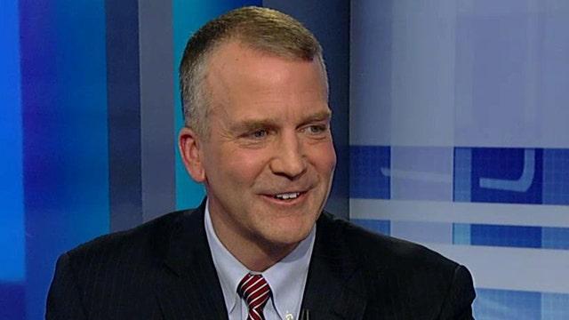 Senator-elect Dan Sullivan takes a victory lap