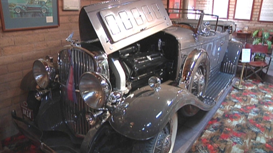 The Franklin Auto Museum in Tucson, Arizona, is home to one of the rarest vintage car collections in the United States.