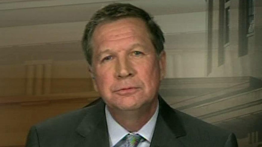 President Obama has kind words for Ohio Governor John Kasich