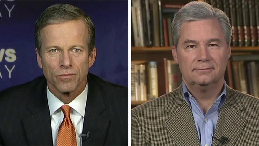 Reaction from Sens. John Thune and Sheldon Whitehouse