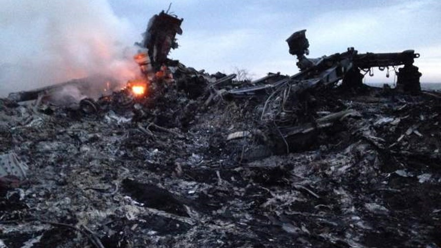 Plane was shot-down by pro-Russia rebels in July