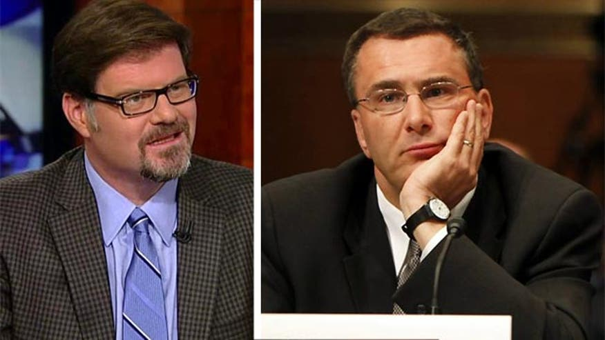 "National Review's Jonah Goldberg said Monday on ""Special Report with Bret Baier"" that embattled Obamacare architect Jonathan Gruber's comments referring to American voters as ""stupid"" exemplify problems that go far beyond the Affordable Care Act."