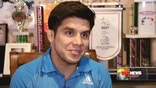 Six years after winning the Gold at the 2008 Olympics, champion wrestler Henry Cejudo is taking on Ultimate Fighting. His debut is Dec. 13.