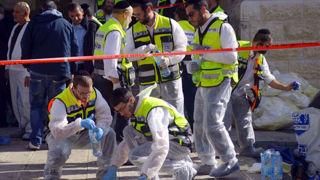 Palestinians celebrate 'lone-wolf' attack on Jerusalem synagogue