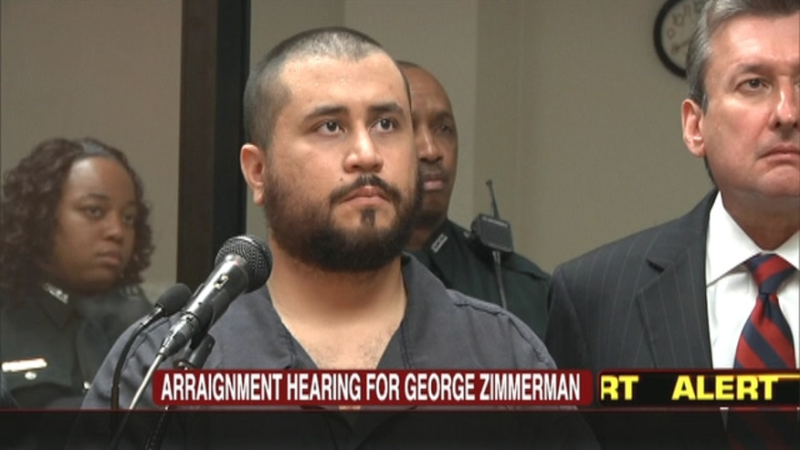 The judge set George Zimmerman's bond at $9,000 and ordered that he not possess guns or ammunition. He was ordered to stay away from the girlfriend's house and wear a monitoring device.