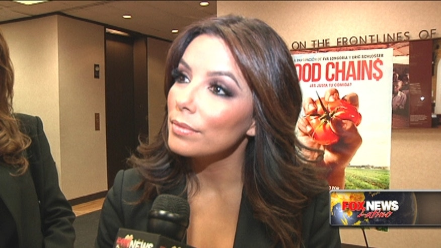 Eva Longoria talks to FNL about Obama's intention to use executive action on immigration.