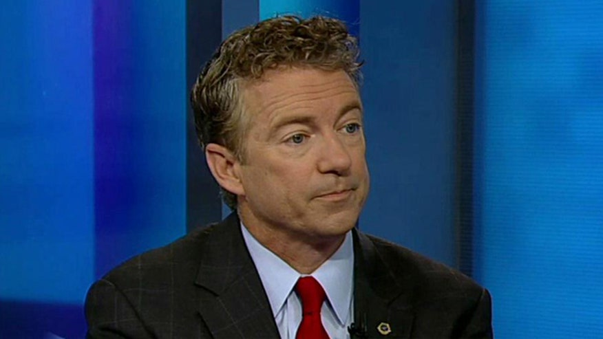 Sen. Rand Paul responds to revelations that emails suggest the White House 'feared' HealthCare.gov wouldn't work a week before launch