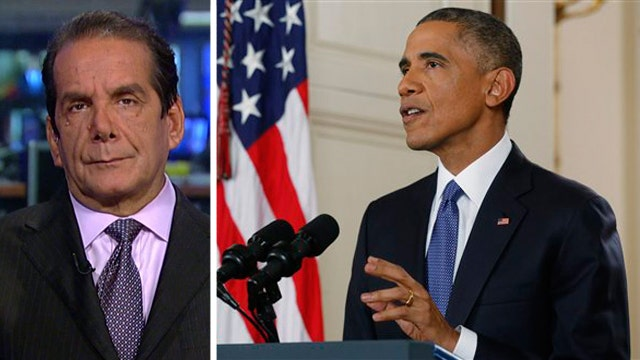 Charles Krauthammer reacts to the President's remarks