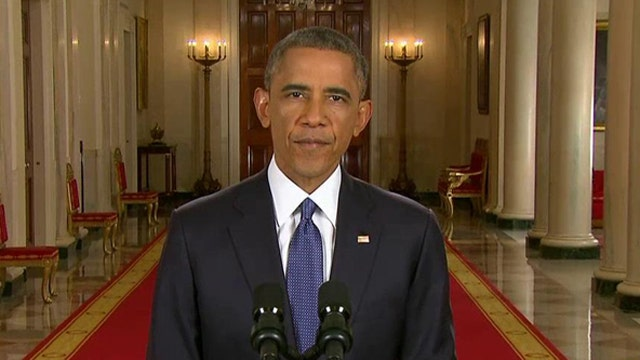 Transcript of President Obama's address on immigration