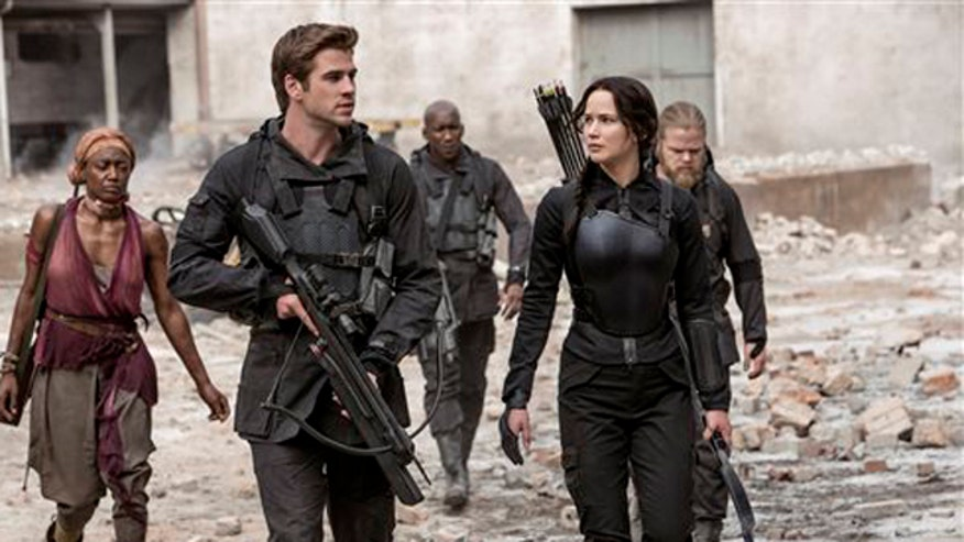 Blockbuster 'Hunger Games' franchise rolls on in 'Mockingjay Part 1'