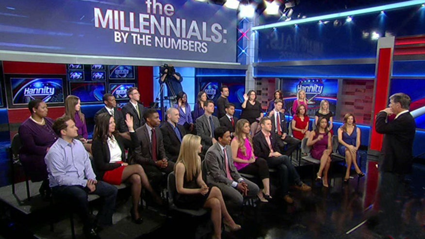 Studio audience debates unemployment, political civility