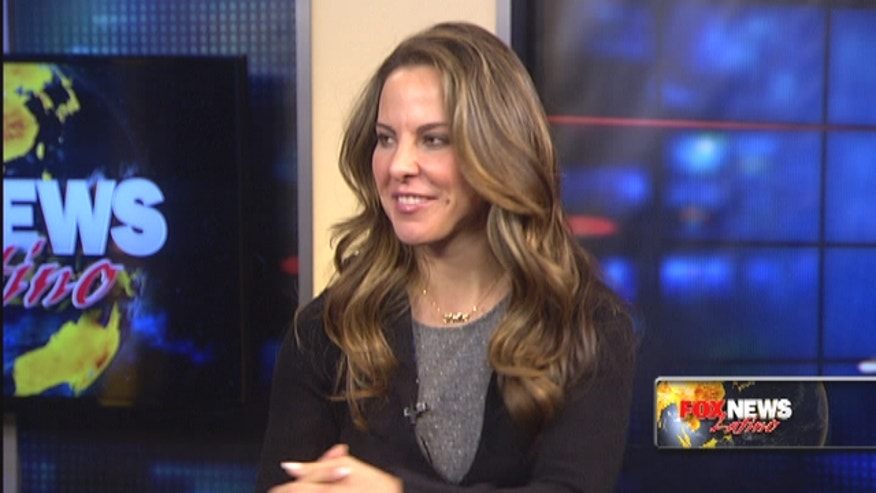 "Mexican actress Kate del Castillo talks about her movie 'A Miracle in Spanish Harlem,' and why she is a ""grinch"" during the holidays."