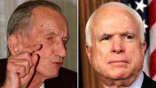 Jan Karski and Sen. John McCain