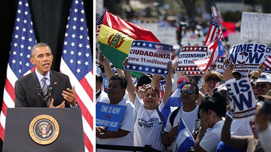 Eric Shawn reports on the immigration decisions that lead to Obama's current action