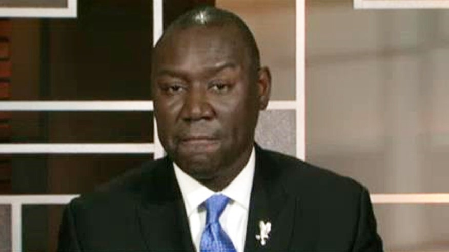 Benjamin Crump: Michael Brown' family hopes for peace, non-violence, hasn't had much of a relationship with prosecutors. #Ferguson