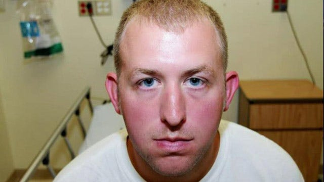 Photos reveal Officer Wilson's injuries
