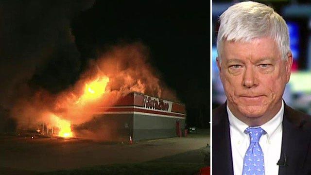 Where was the National Guard? Critics question Missouri authorities' handling of Ferguson riots