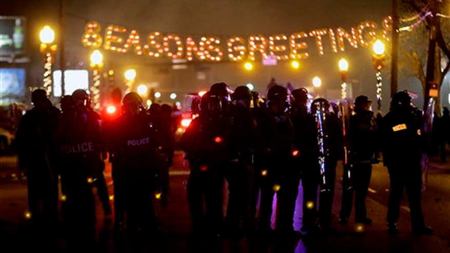 Mike Tobin reports from Ferguson