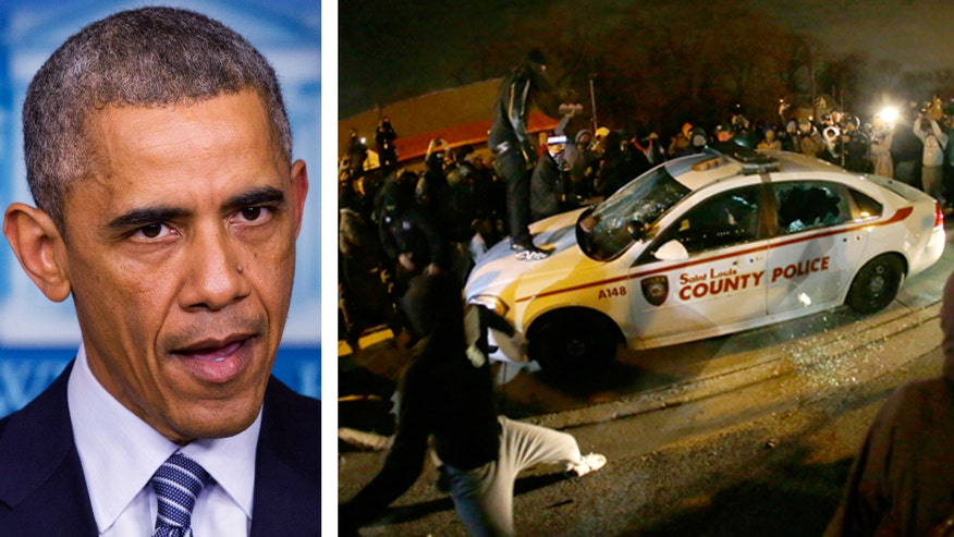 Could the president have done more to quell the unrest in Ferguson before the violent protests reached a fever pitch? Or was he in a no-win situation? #Ferguson