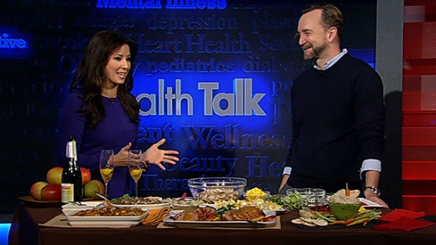 Celebrity chef Clinton Kelly shares his tips on how to turn a holiday fatty-feast into a healthy gathering your friends and family will never forget