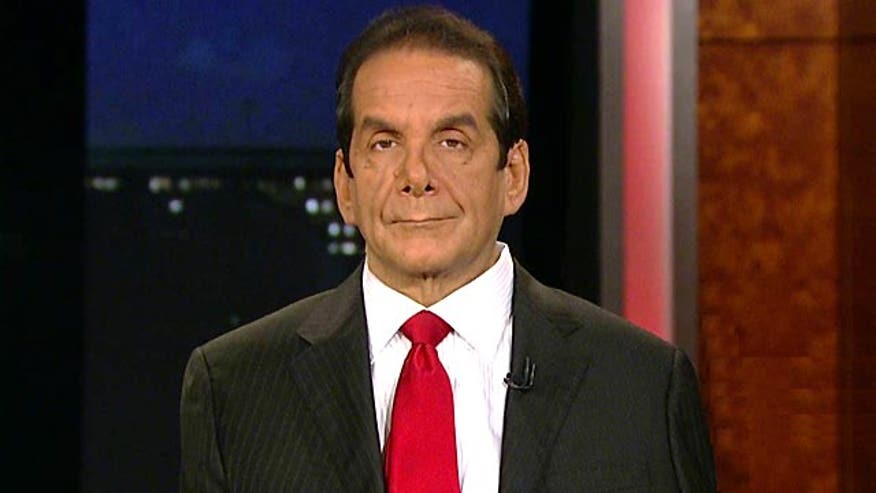 Charles Krauthammer says that the controversial mandate by Obamacare to force religious institutions to provide contraception to employees in their health plans when some religions believe is a form of murder.