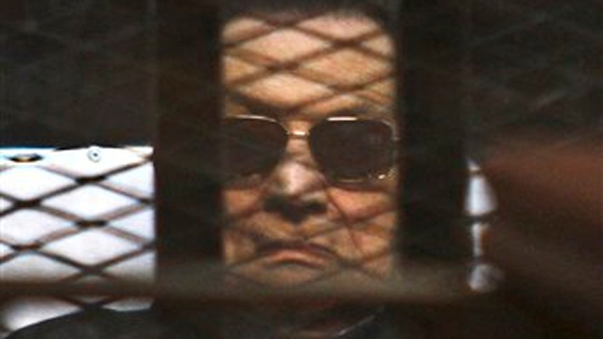 Mubarak is still serving three-year corruption sentence