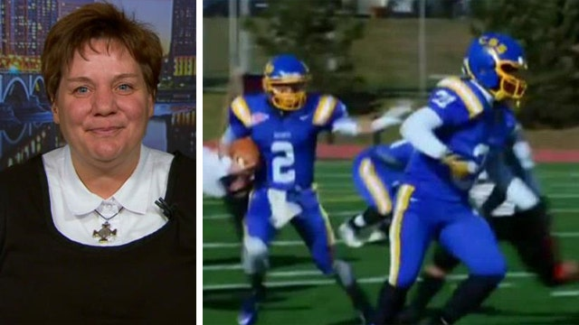 Nun changing lives with football and faith