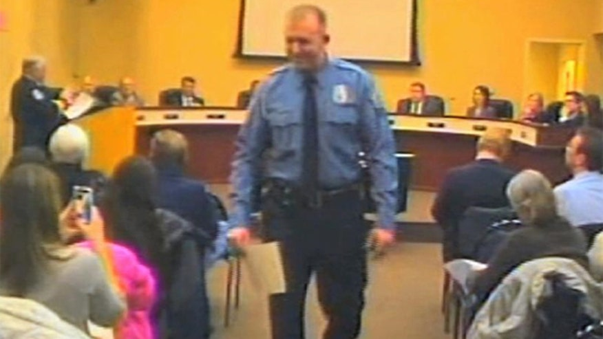 City officials confirm Officer Wilson will not be given severance