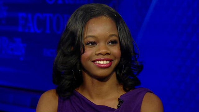 Gabby Douglas enters the 'No Spin Zone'