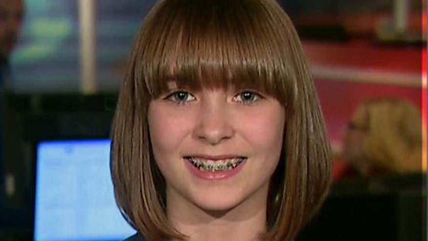 Madison Root stopped from raising money for braces