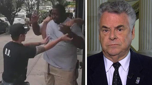 Rep. King: 'No elements of racism' in Eric Garner case