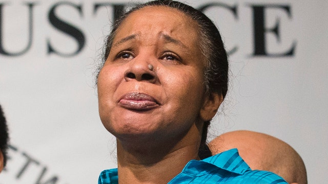 'Hell no': Eric Garner's widow rejects officer's apology