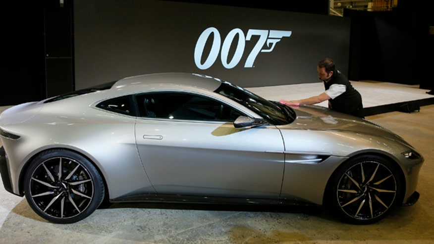 And the name of the next James Bond movie is...