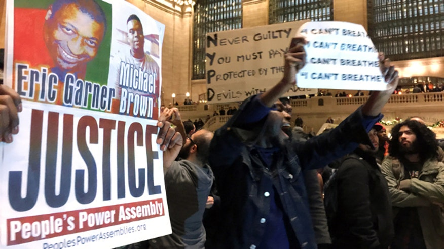 Thousands protest grand jury decision