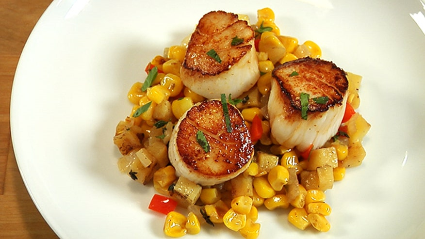 "Keith Schroeder, the author or ""Cooking Light: Mad Delicious,"" shares his secret for the perfect buttery scallop."