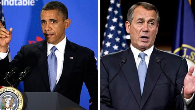 Who's to blame for 'fiscal cliff'?