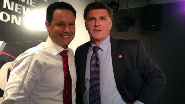 Brian and Governor Robert Ehrlich