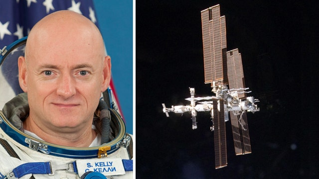 NASA astronaut Scott Kelly to spend entire year aboard ISS