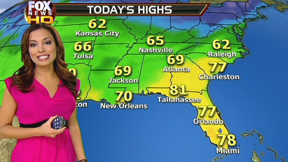 Fox Southeastern Weather Forecast: 12/5