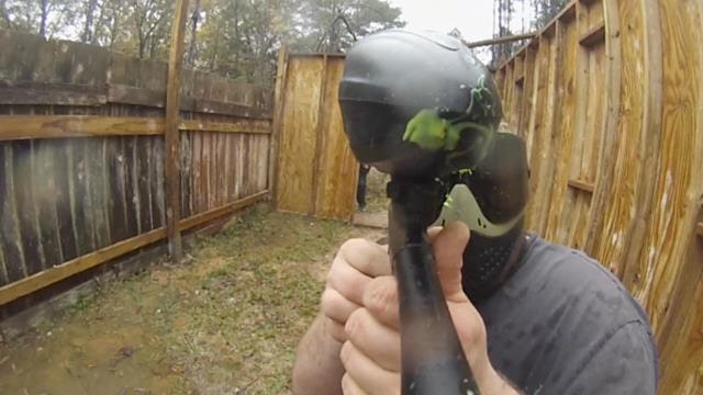 Paintball venues across the country are impacted by the recession, but one business is bucking the trend with a profit