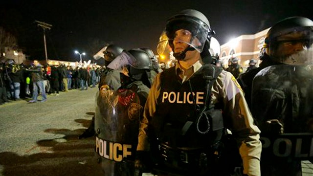 Overreaction to the Ferguson situation?
