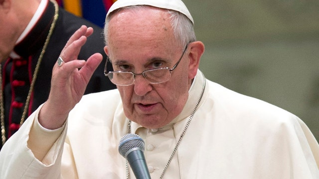 Pope calls for an end to religious extremism