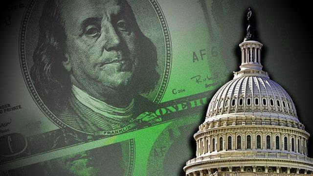 The national debt passes $18 trillion