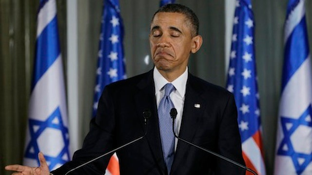 White House looking at sanctions for Israel but not Iran?