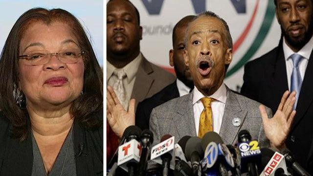 Alveda King on Al Sharpton's involvement in protests