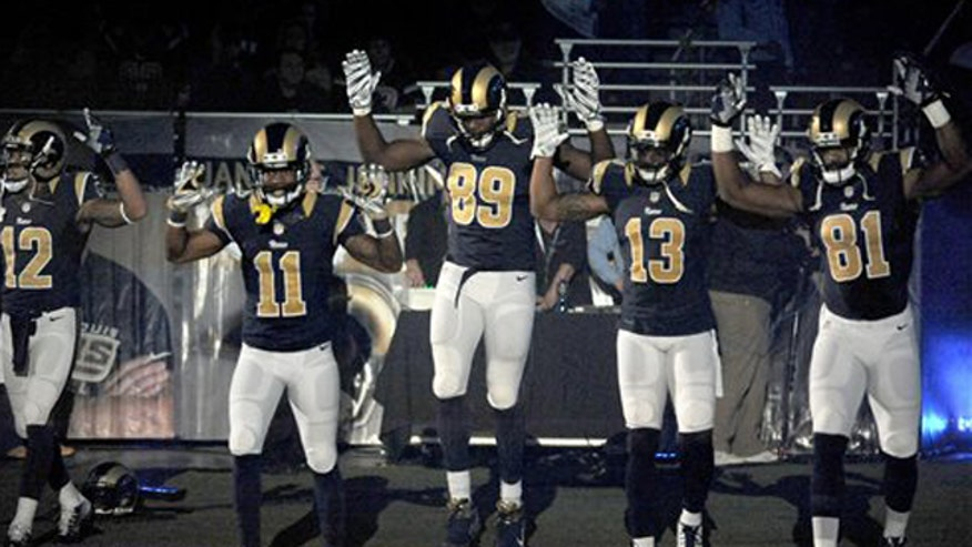 Ty Miller on five St. Louis Rams players protesting the police shooting in Ferguson