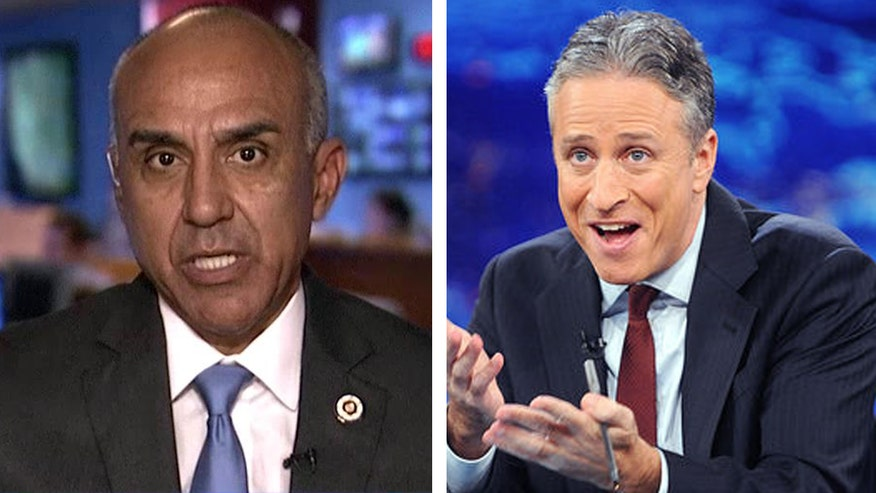 San Bernardino, Calif. district attorney defends law enforcement and slams Jon Stewart for incorrectly comparing Ferguson to two other incidents. #Ferguson