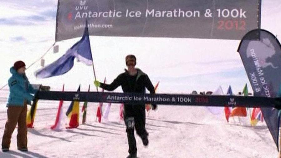 Doctor runs seven ultra-marathons in seven days
